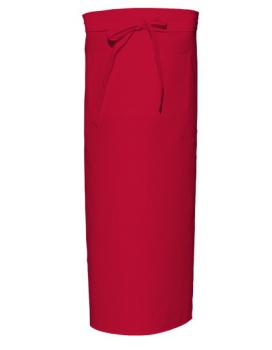 Red Bistro Apron XL with Front Pocket