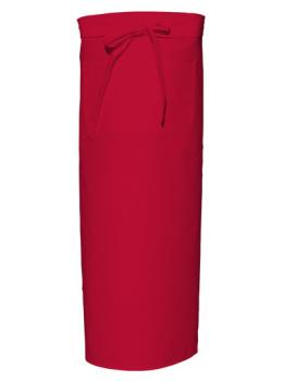 Bistro Apron with Front Pocket Red