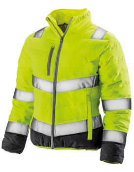 Result - Frauen Soft Padded Jacket Gelb