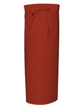 Bistro Apron with Front Pocket Terracotta