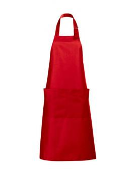 Long Apron Gala Schürze - Red