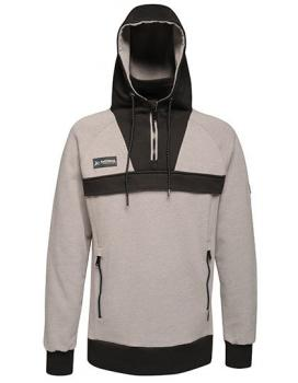 Regatta Assault 1/2 Zip Sweat Hoodie Grey Black