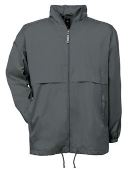 B&C - Air Windbreaker Dark Grey