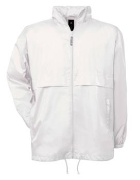 B&C - Air Windbreaker Weiß