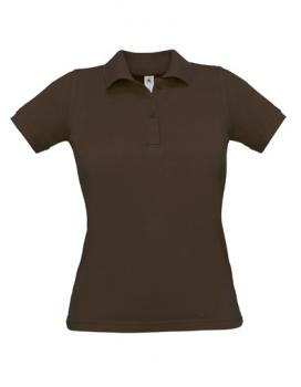 Safran Poloshirt Frauen Brown