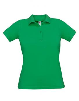 Safran Poloshirt Frauen Kelly Green