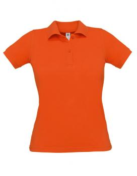 Safran Poloshirt Frauen Pumpkin Orange