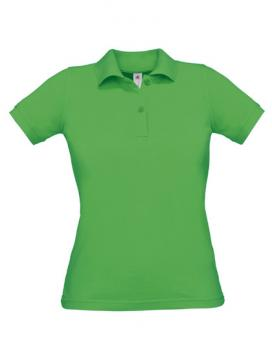 Safran Poloshirt Frauen Real Green