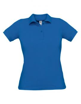 Safran Poloshirt Frauen Royal Blue