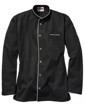 CG Workwear Kochjacke Trapani Man Black/White