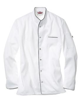 CG Workwear Kochjacke Trapani Man White/Black