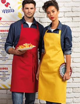 Premier Workwear - Colours Collection Bib Apron