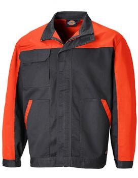 Dickies Everyday Bundjacke - Schwarz / Orange