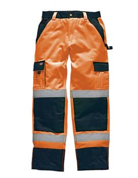 Dickies Industry Warnschutz Bundhose EN 20471 orange