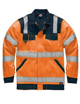 Dickies Industry Warnschutz Bundjacke EN20471  orange