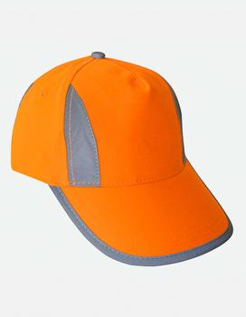 Korntex - Hi-Viz-, Fluo-, Reflective-Cap Signal Orange