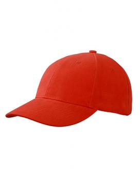 MyrtleBeach - 6-Panel Cap laminiert Grenadine