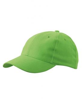 MyrtleBeach - 6-Panel Cap laminiert Lime