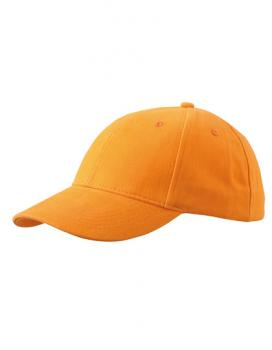 MyrtleBeach - 6-Panel Cap laminiert Orange