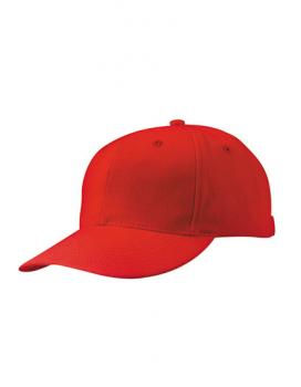 MyrtleBeach - 6-Panel Cap laminiert Red