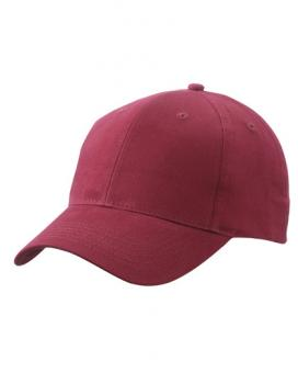 Myrtle Beach - Brushed 6-Panel Cap Burgundy