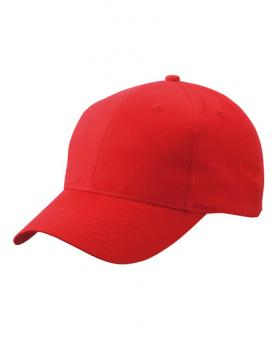 Myrtle Beach - Brushed 6-Panel Cap Red