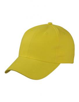 Myrtle Beach - Brushed 6-Panel Cap Sun Yellow