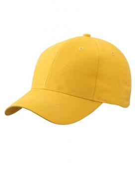 Myrtle Beach - Brushed 6-Panel Cap Yellow