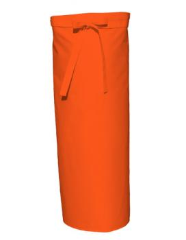 Orange Bistro Apron XL