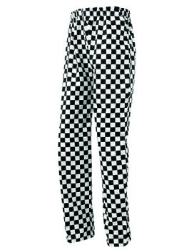 Premier Essential Chefs Trouser Black White