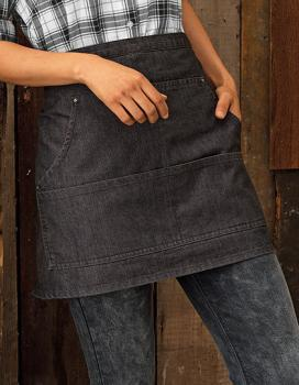 Premier Workwear Jeans Stitch Denim Waist Apron