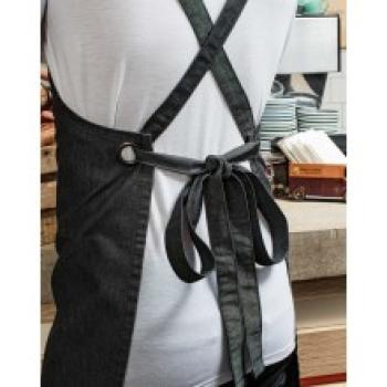 Premier Workwear Cross Back Barista Bib Apron Detail