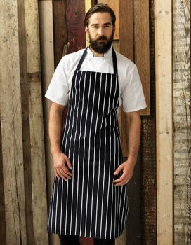 Premier Workwear Striped Bib Apron