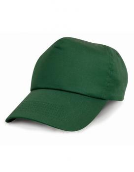 Result Headwear - Junior Cotton Cap - Bottle Green