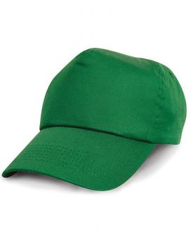 Result Headwear - Junior Cotton Cap - Kelly Green