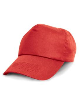 Result Headwear - Junior Cotton Cap - Rot