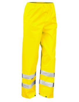 Result - Safety Hi-Viz Trouser Fluorescent Yellow