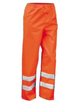 Result - Safety Hi-Viz Trouser Fluorescent Orange