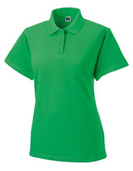 Russell Ladies Classic Cotton Polo Apple