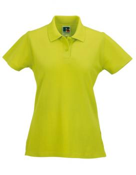 Russell Ladies Classic Cotton Polo Lime