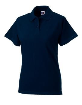 Russell Ladies Classic Cotton Polo Navy