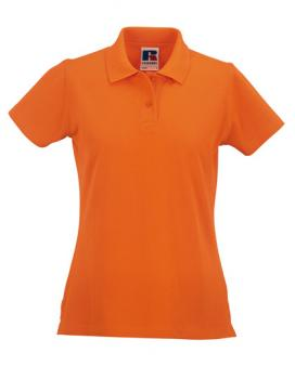 Russell Ladies Classic Cotton Polo Orange