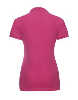 Russell Ladies Stretch Polo hinten