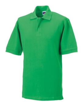 Russell Mens Classic Cotton Polo Apple