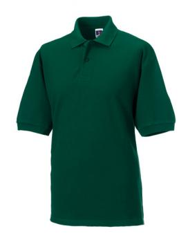 Russell Mens Classic Cotton Polo Bottle Green