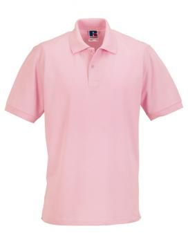 Russell Mens Classic Cotton Polo Candy Pink