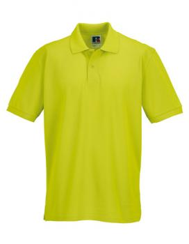 Russell Mens Classic Cotton Polo Lime