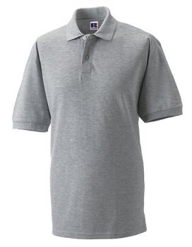 Russell Mens Classic Cotton Polo Light Oxford