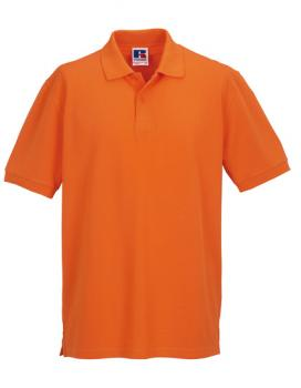 Russell Mens Classic Cotton Polo Orange