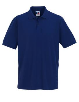 Russell Mens Classic Cotton Polo Purple